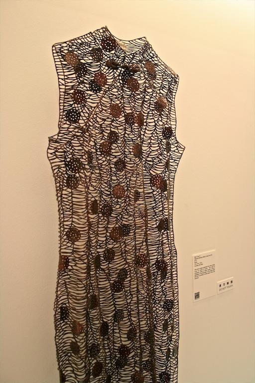 Man Fung Yi: Weaving Intimacy (Body Lines) No. Q10 (2010) Brass
