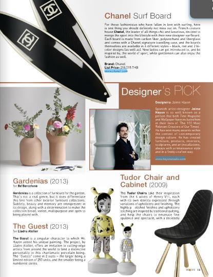 November 2013 | Designer's Pick