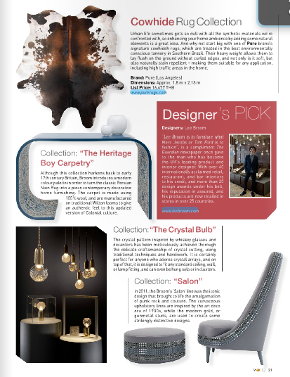 October 2013 | Designer's Pick