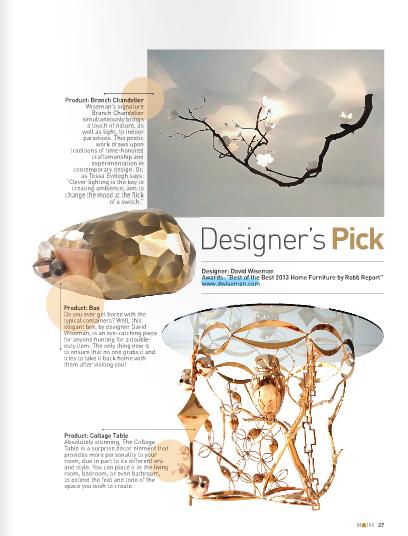 August 2013 | Designer's Pick